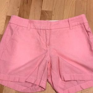 J Crew pink short size 2 short. Perfect condition